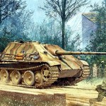 Boxart of Dragon 6393 Jagdpanther G1 Late Production kit.
