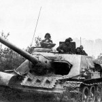 Original photo as reference for SU-100 that belongs to 13th Army/1st Ukrainian Front in April 1945.