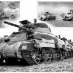 Some reference original photos of  Shermans Mk. II that belongs to