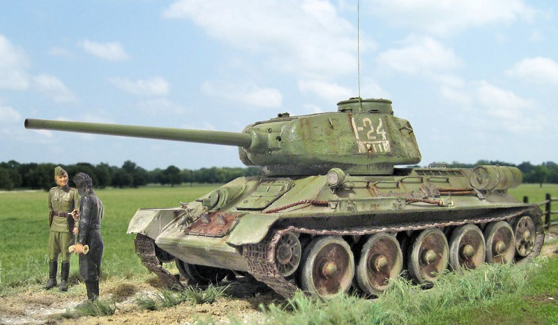 T 34 85 Miniature Models Of Wwii