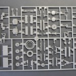 Sprue A with engine parts.