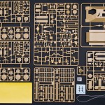 All sprues, PE mesh, synthetic thread, decals and camouflage pattern masking sheet