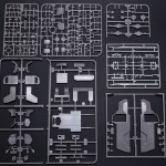 All stirene sprues.